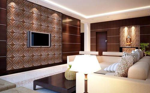 500x312 Pvc Panels For Drawing Rooms