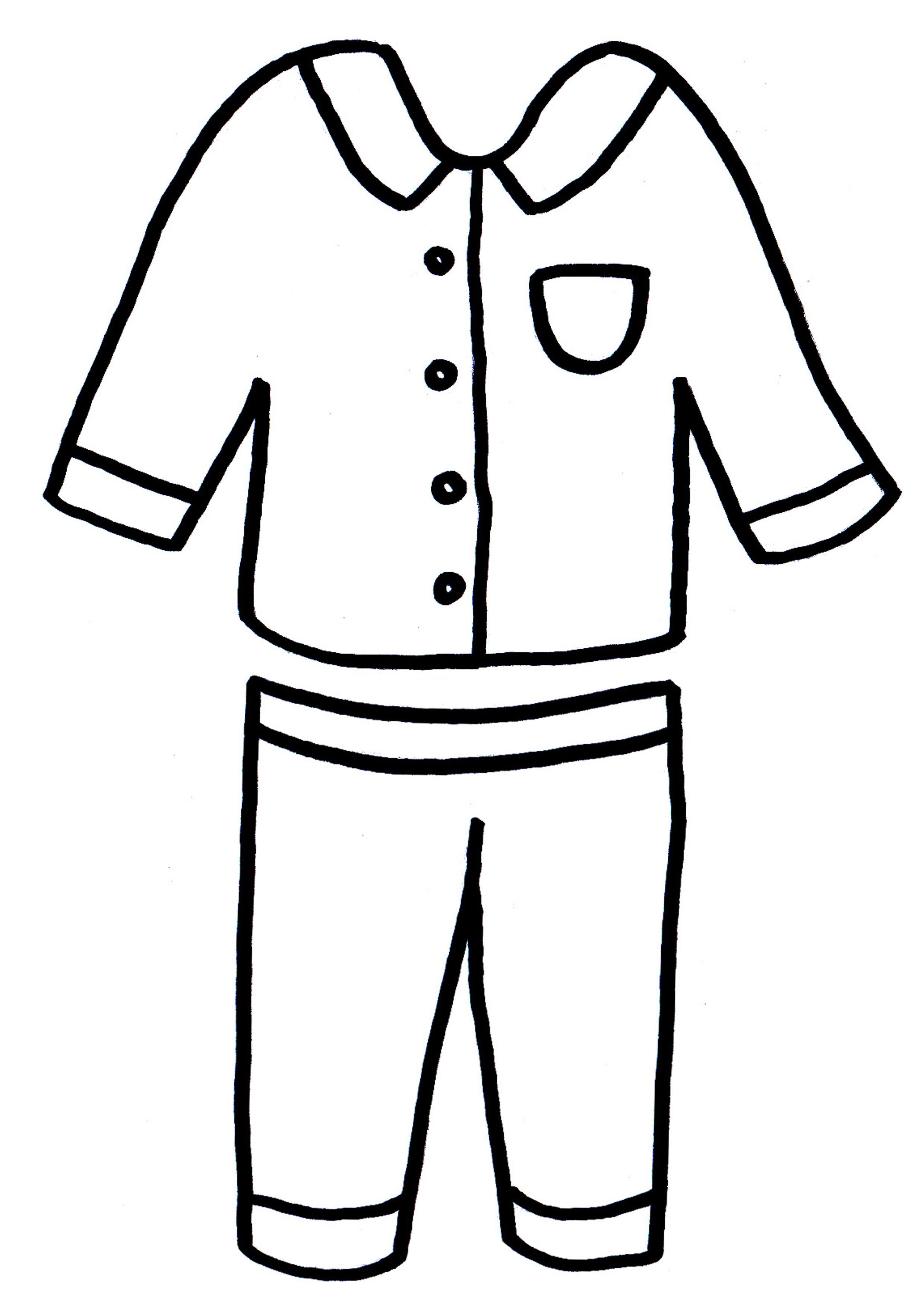 Pyjamas Drawing