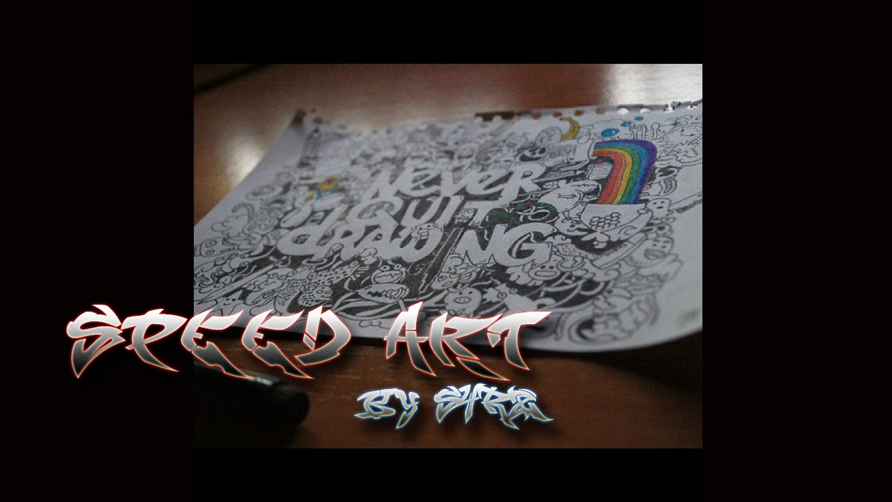 1280x720 Speedr Art Drawing ``never Quit By S4rz