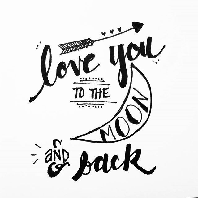 640x640 Love You Signs For Art Letters, Bullet Journals