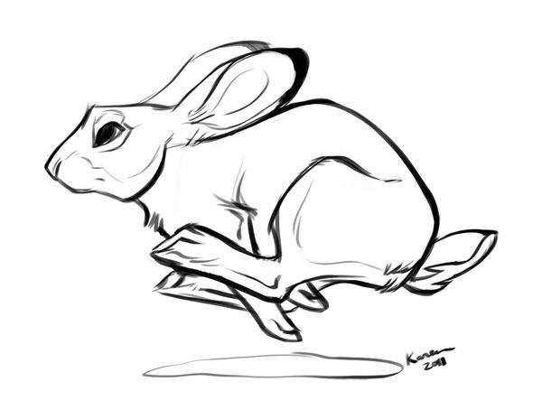 600x464 Run Rabbit Run By Kayjkay