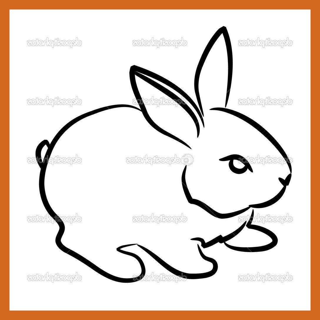 1088x1088 Astonishing Cute Bunny Drawing Step By At Getdrawings