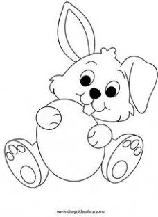 228x312 Rabbit Skull Face Coloring Pages