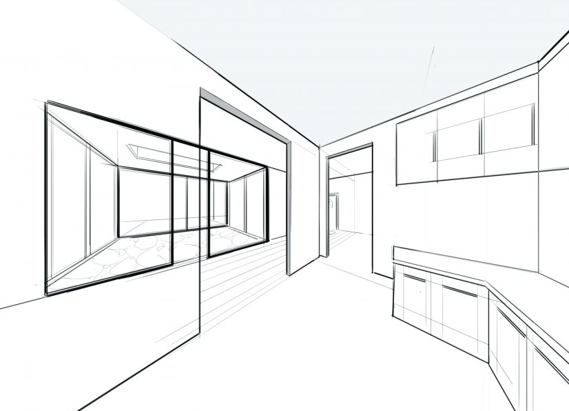 826x596 64 Most Essential Drawing Cabinets To Scale In Revit Kitchen