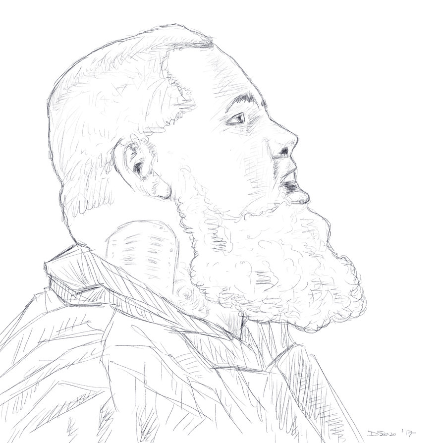 894x894 Rag'N'Bone Man Sketch By Phtorxp
