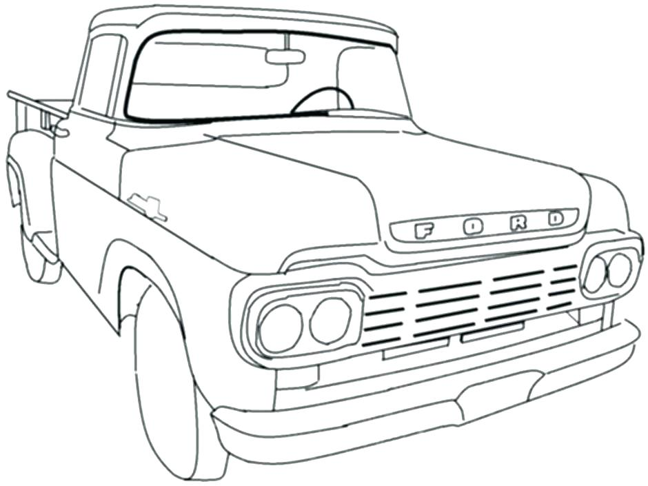 940x705 Dodge Ram Coloring Pages Dodge Ram Coloring Pages Dodge Ram Truck