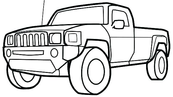 580x326 Dodge Truck Coloring Pages