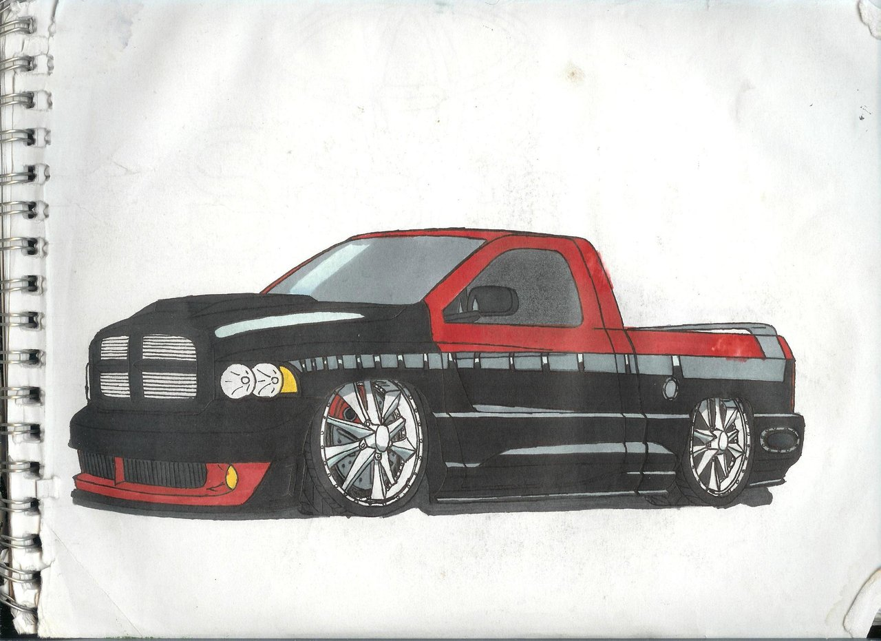 1280x931 Dodge Ram Low Rider By Vipergts1011