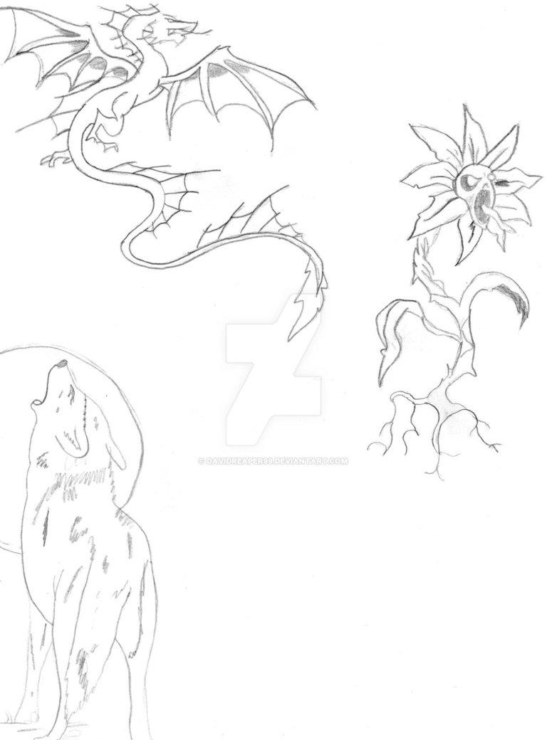 768x1040 Random Tattoo Ideas By Davidreaper99