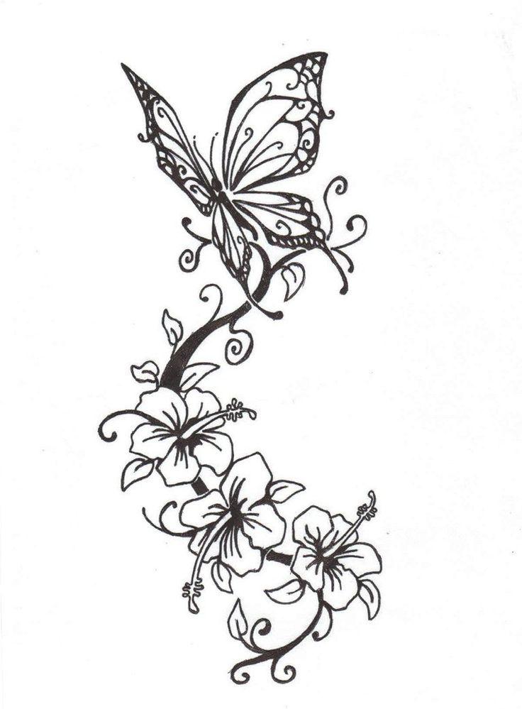 736x999 Flower Tattoo Drawings Best 25 Flower Tattoos Ideas