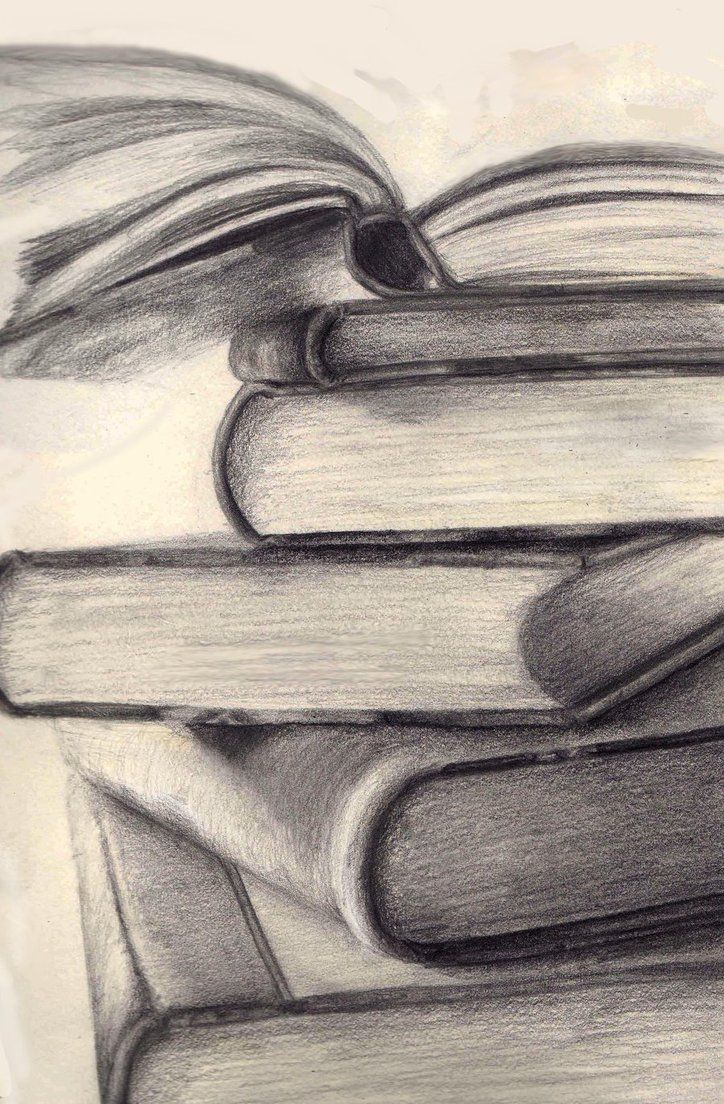 Realistic Book Drawing at GetDrawings com   Free for