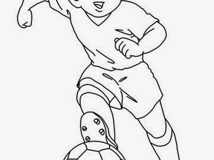 440x330 47 Football Players Coloring Pages, Football Player Coloring Pages