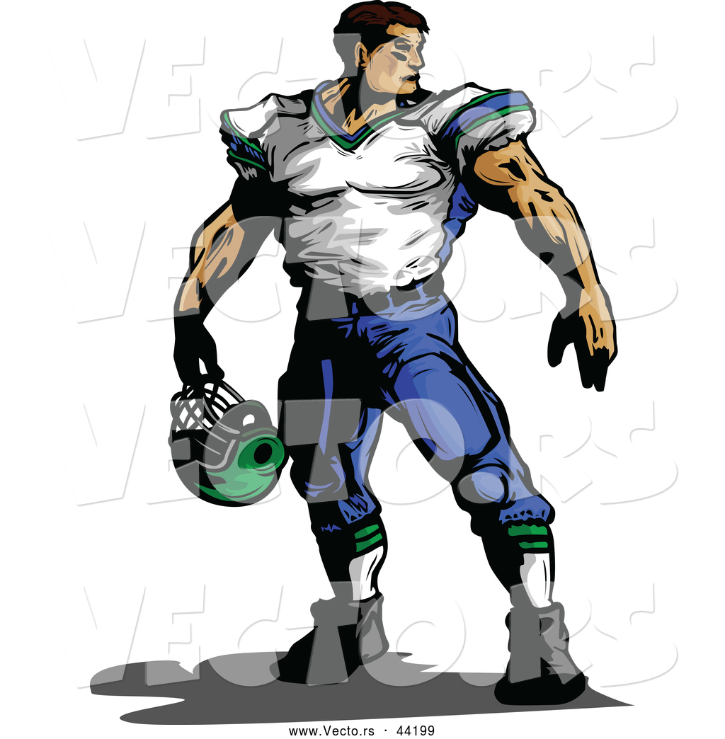 1024x1044 Collection Of Buff Football Player Drawing High Quality