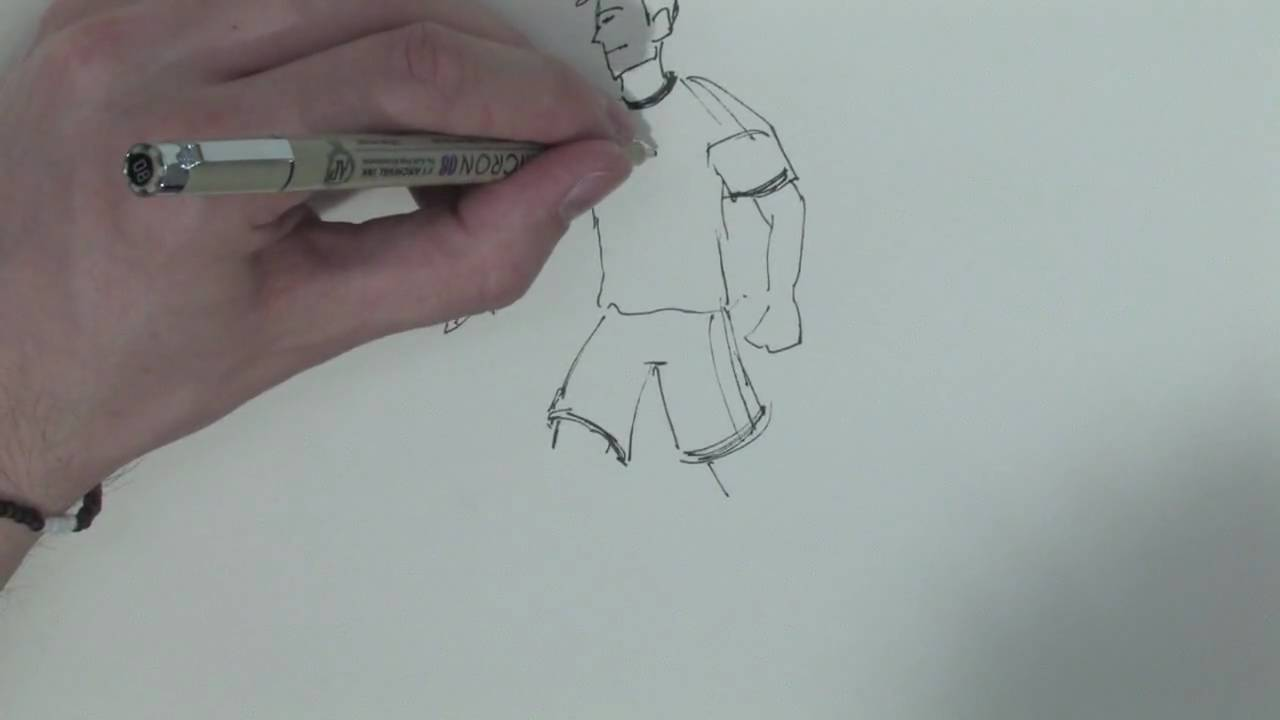 1280x720 Drawing Amp Illustration Techniques How To Draw A Soccer Player