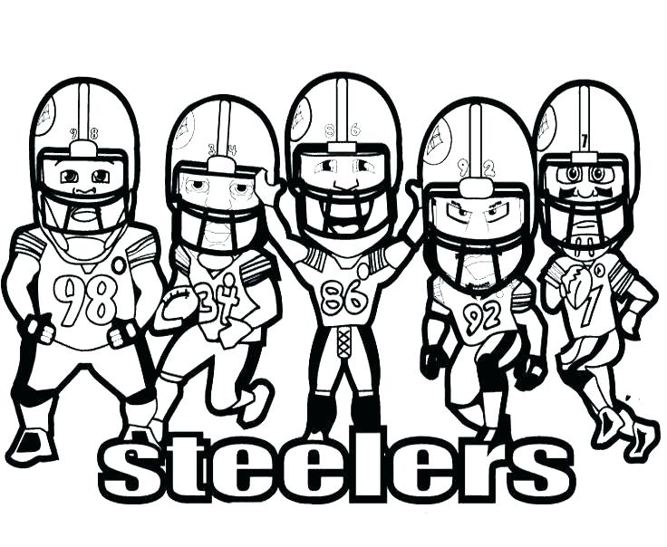 736x604 Football Player Coloring Football Field Coloring Pages Football