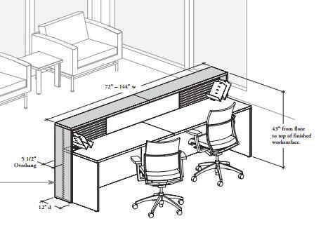 457x345 Reception Desk Dimensions Reception Desks
