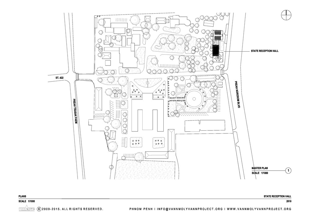 1000x712 State Reception Hall, Chamkar Mon Compound The Vann Molyvann Project