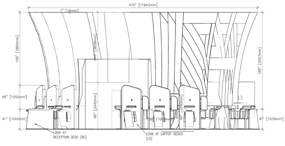 1209x619 Custom Event Area Shop Drawings