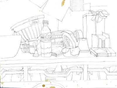 400x299 Dottynoggin Retrospective Norman School Sketches
