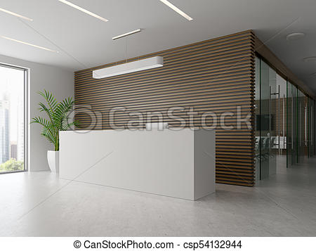 450x357 Interior Of Reception And Meeting Room 3d Illustration . Drawing