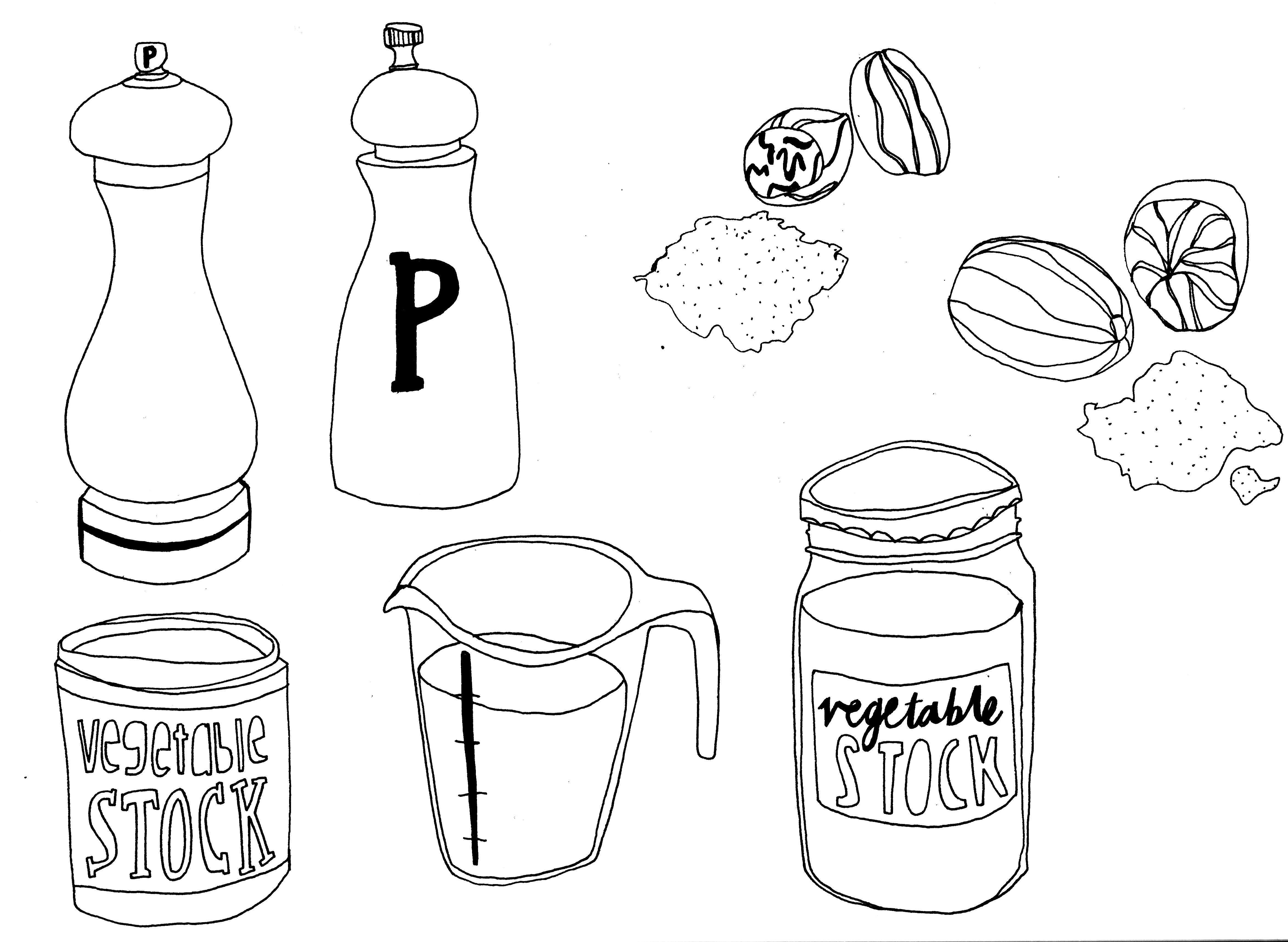 4696x3433 Illustrated Recipe Harriet Plaskitt