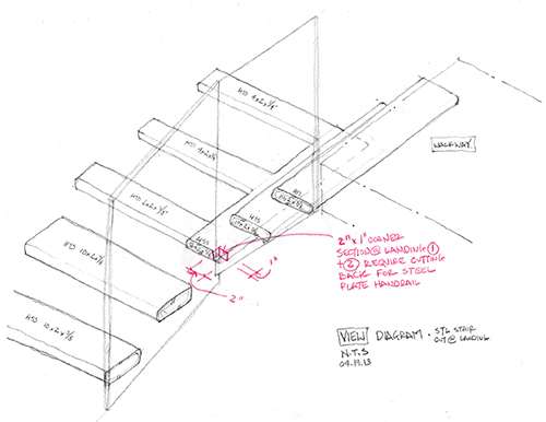 500x386 Inclination And Evolution A Stair Design The Architects' Take