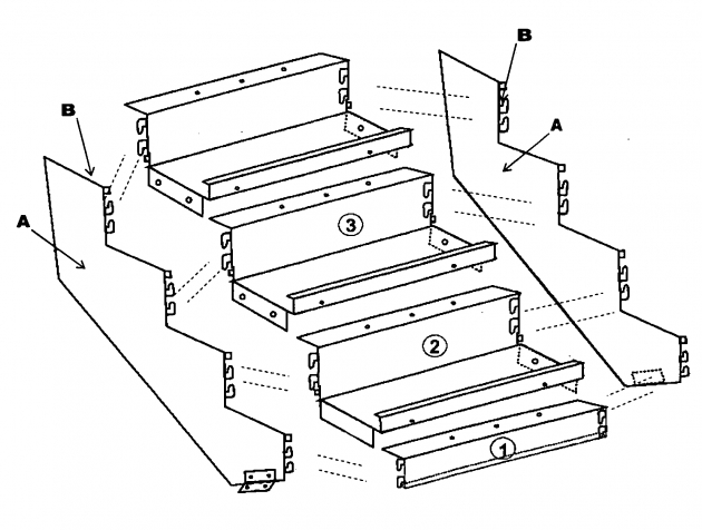 630x476 Steel Staircase Dimensions Patent Us20090293385 Boltless Metal