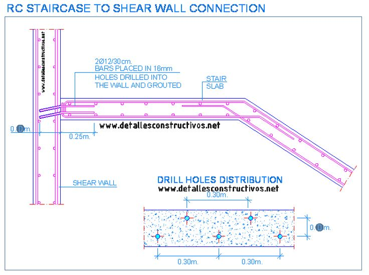 Reinforced Concrete Stairs Detail Drawing at GetDrawings com