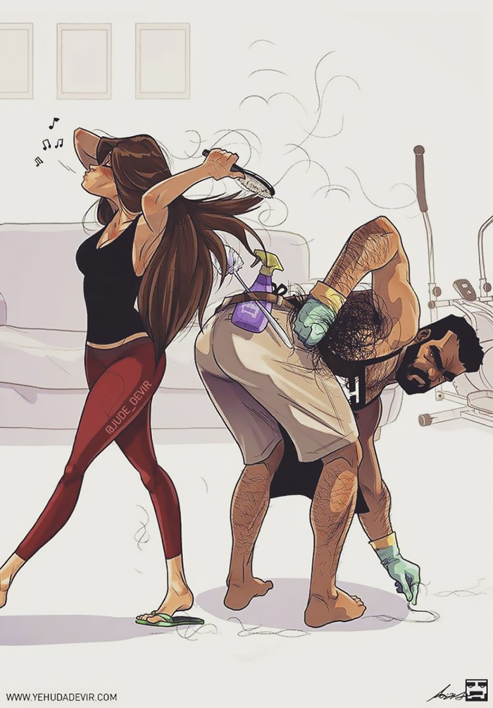 700x1004 Artist Illustrates Everyday Life With His Wife (21 New Comics