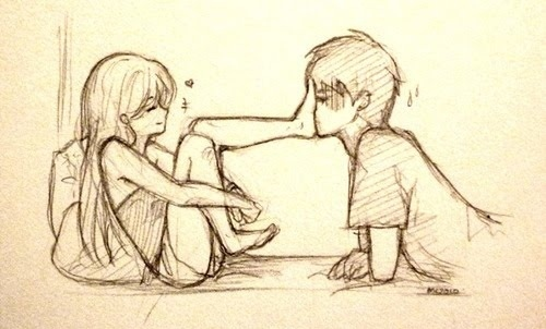 500x302 Photos Cute Relationship Drawing,