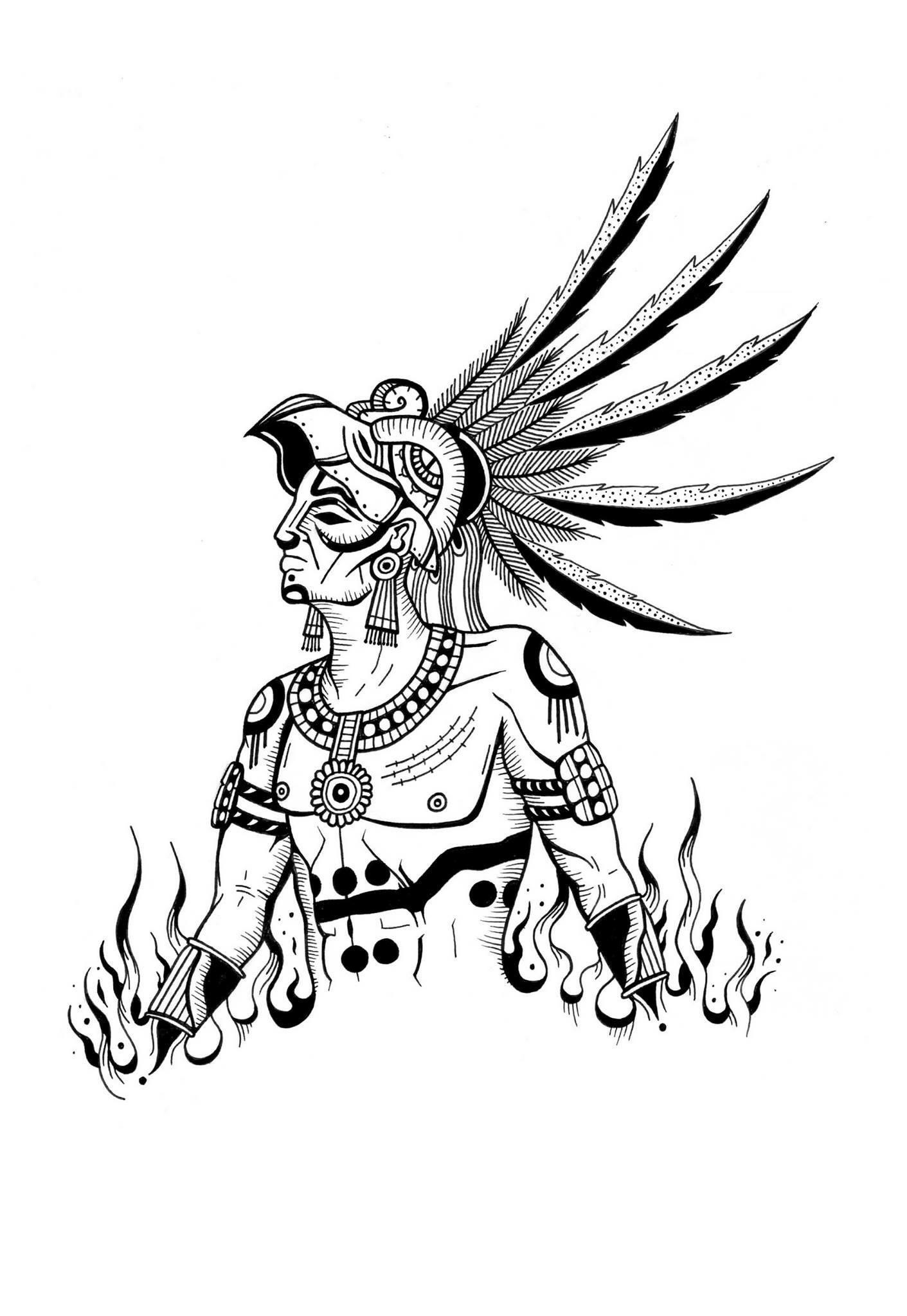 1411x2048 Drawing Montezuma Civ