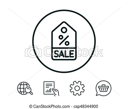 450x383 Shopping Tag Line Icon. Special Offer Sign. Shopping Tag Line Icon