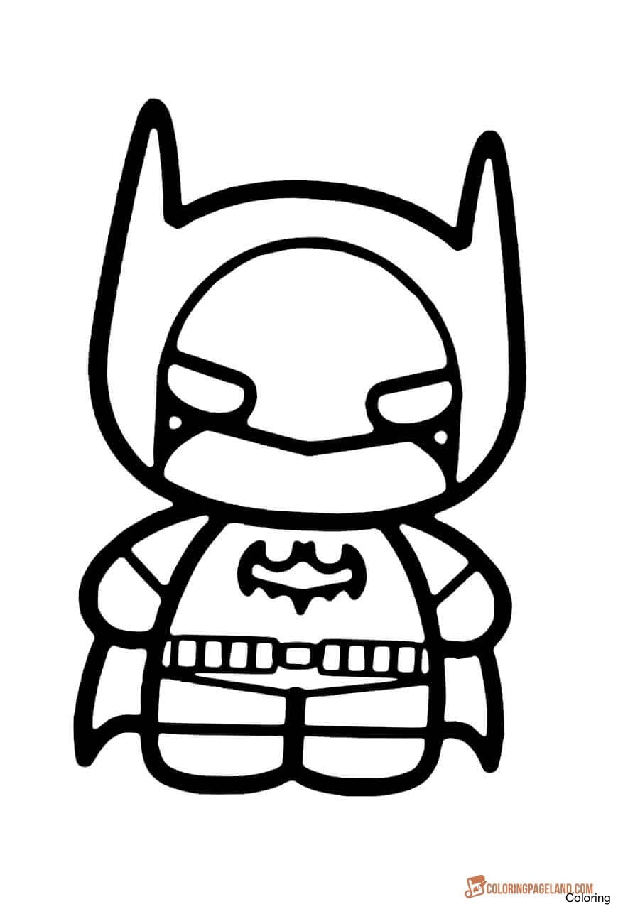 870x1280 Baby Batman Drawing 11chibi Batman Coloring Pages