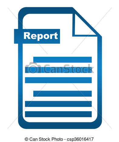 393x470 Report Blue Icon Report Text Over Red Blue Background With File