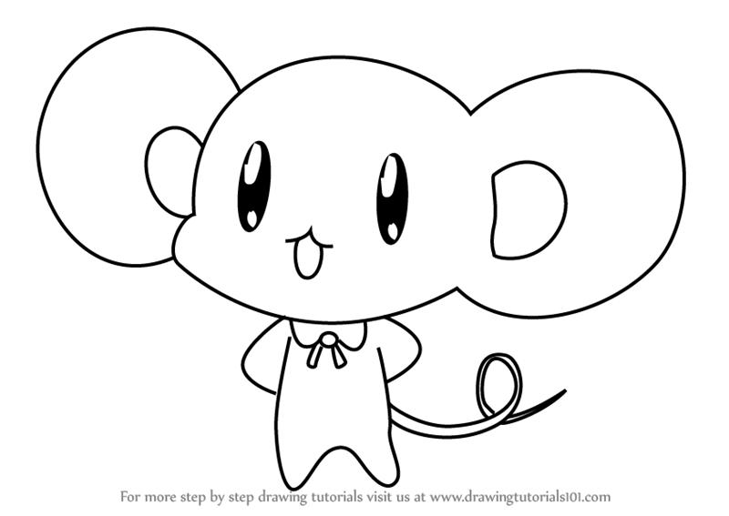 800x567 Learn How To Draw Director Nezumi From Kirarin Revolution (Kirarin