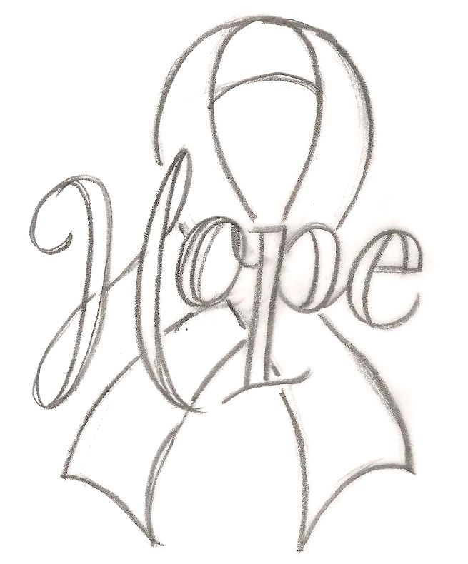 655x790 Pink Ribbon Coloring Pages