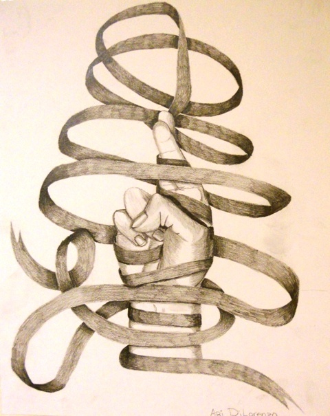 480x605 26 Best Ribbon Project Images On Drawing Ideas, Spiral