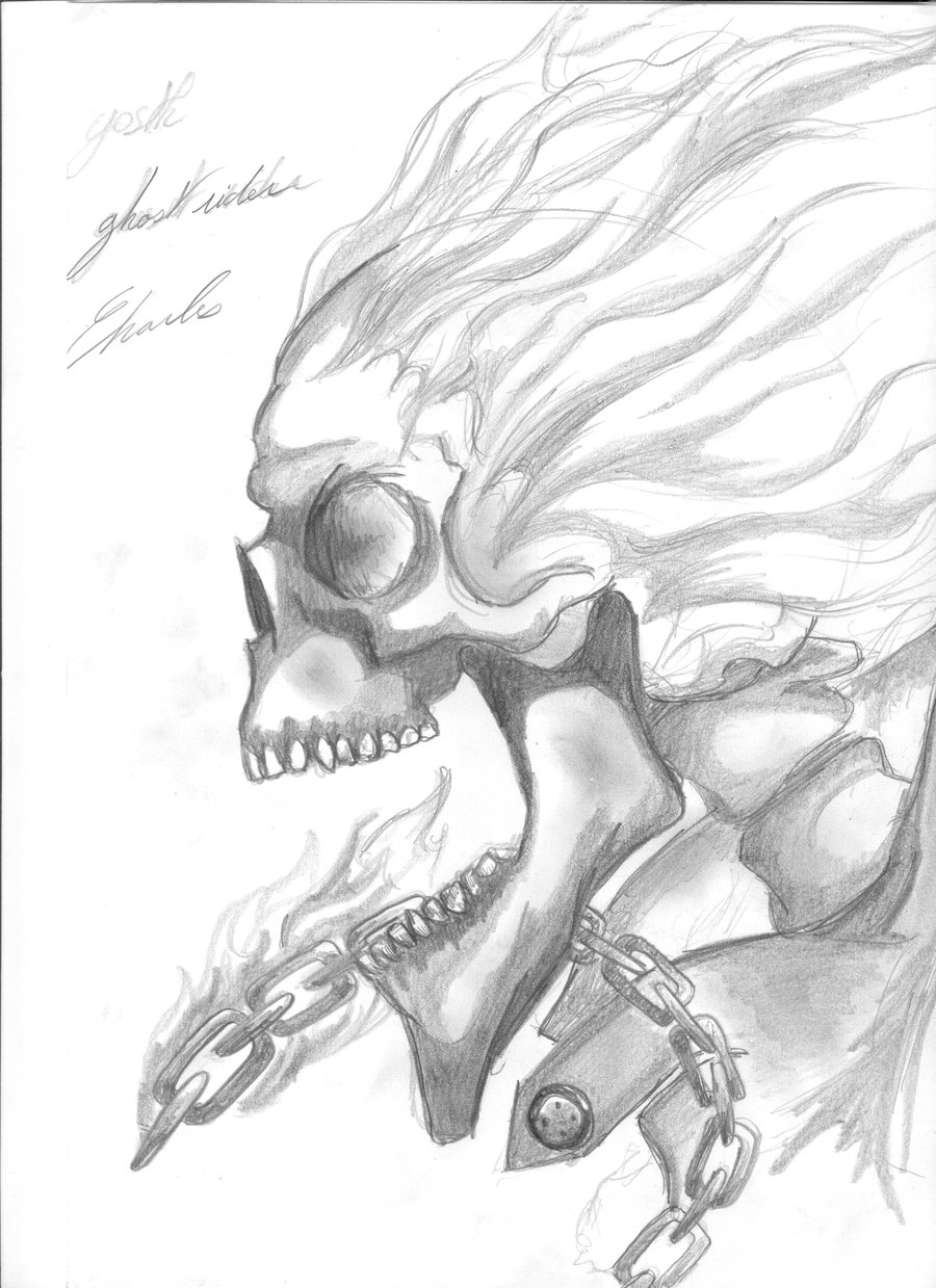 900x1239 Ghost Rider Pencil Sketch Ghost Rider Pencil Sketch Ghost