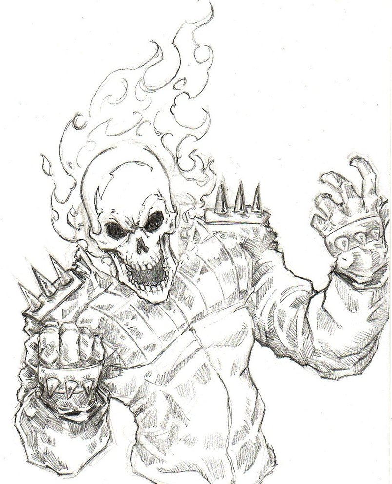 804x993 Ghost Rider By Chrisozfulton