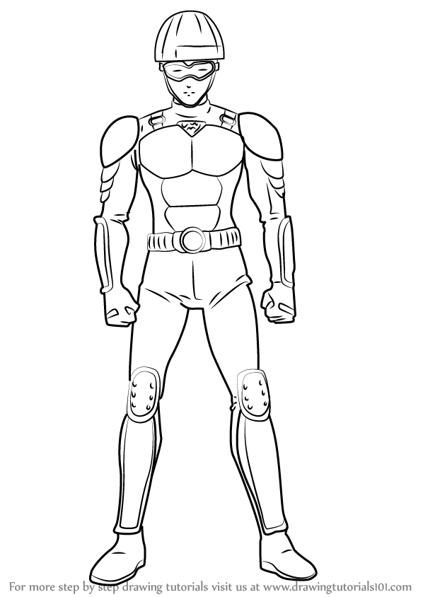 598x844 Learn How To Draw License Less Rider From One Punch Man (One Punch