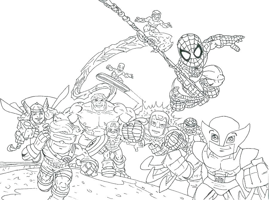 900x672 Free Marvel Coloring Pages Free Marvel Coloring Pages Drawing