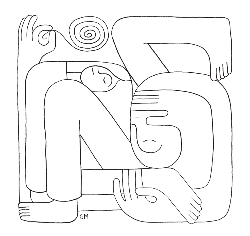 1000x946 Surreal Drawings By Geoff Mcfetridge
