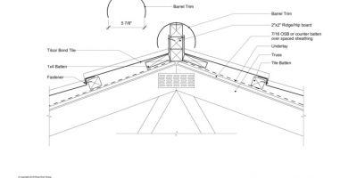 400x200 Tilcor All Bim Amp Cad Details