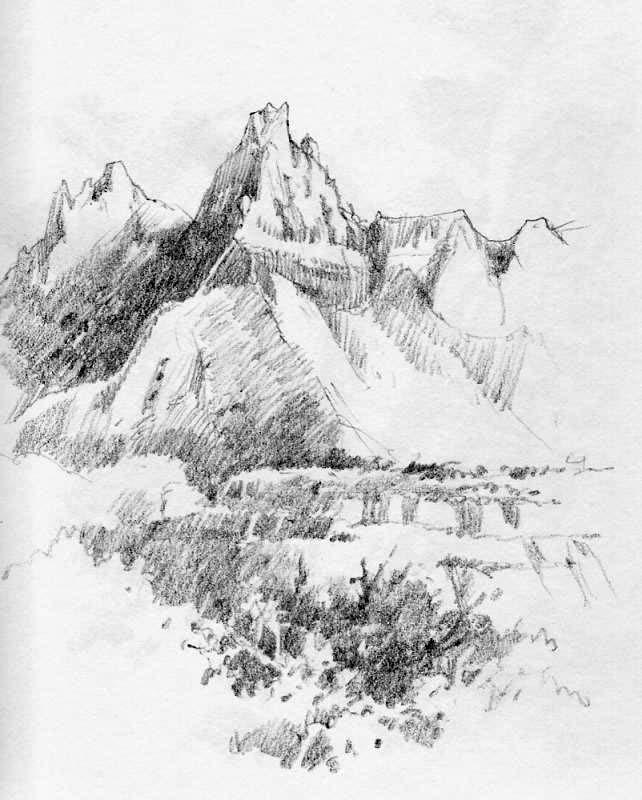 642x800 Zion National Park Sketchbook Roland Lee