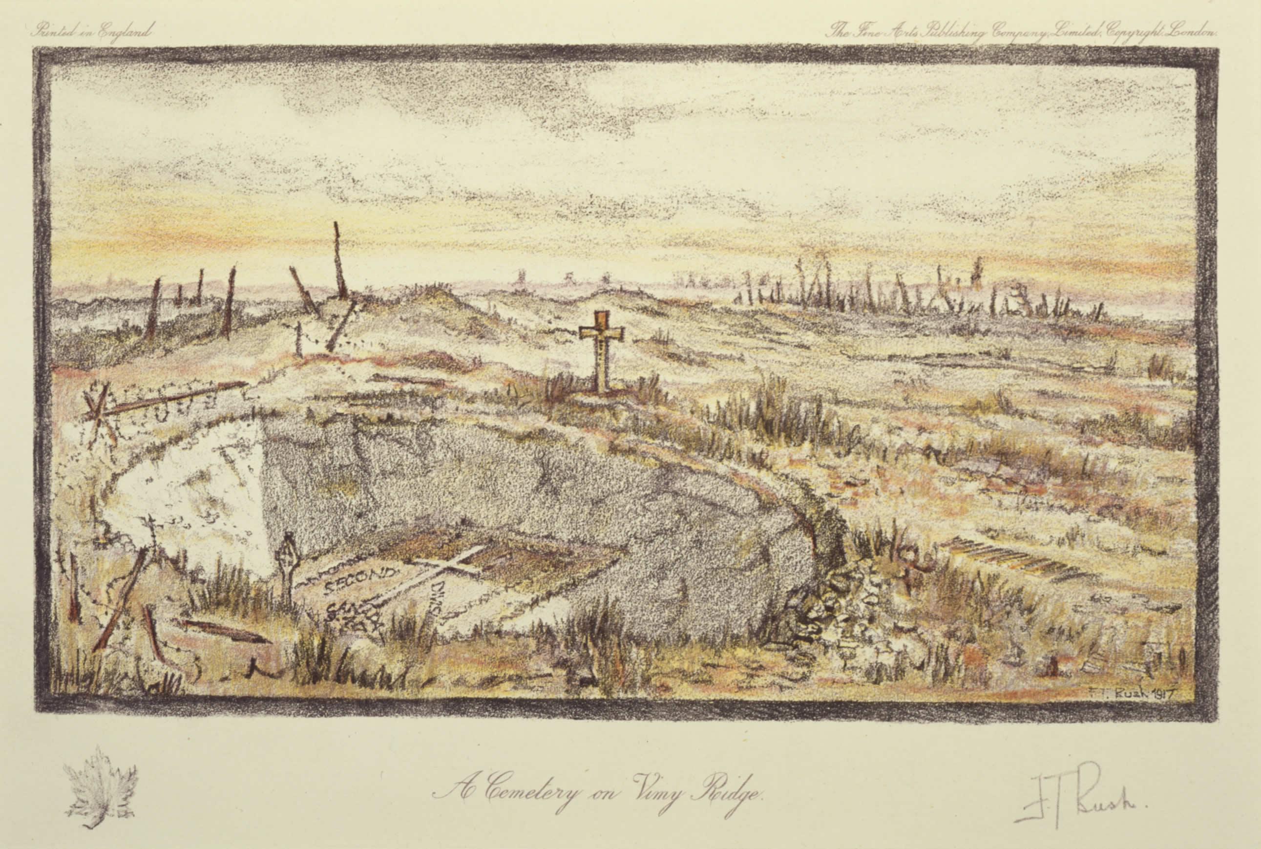 2582x1738 Filea Cemetery On Vimy Ridge