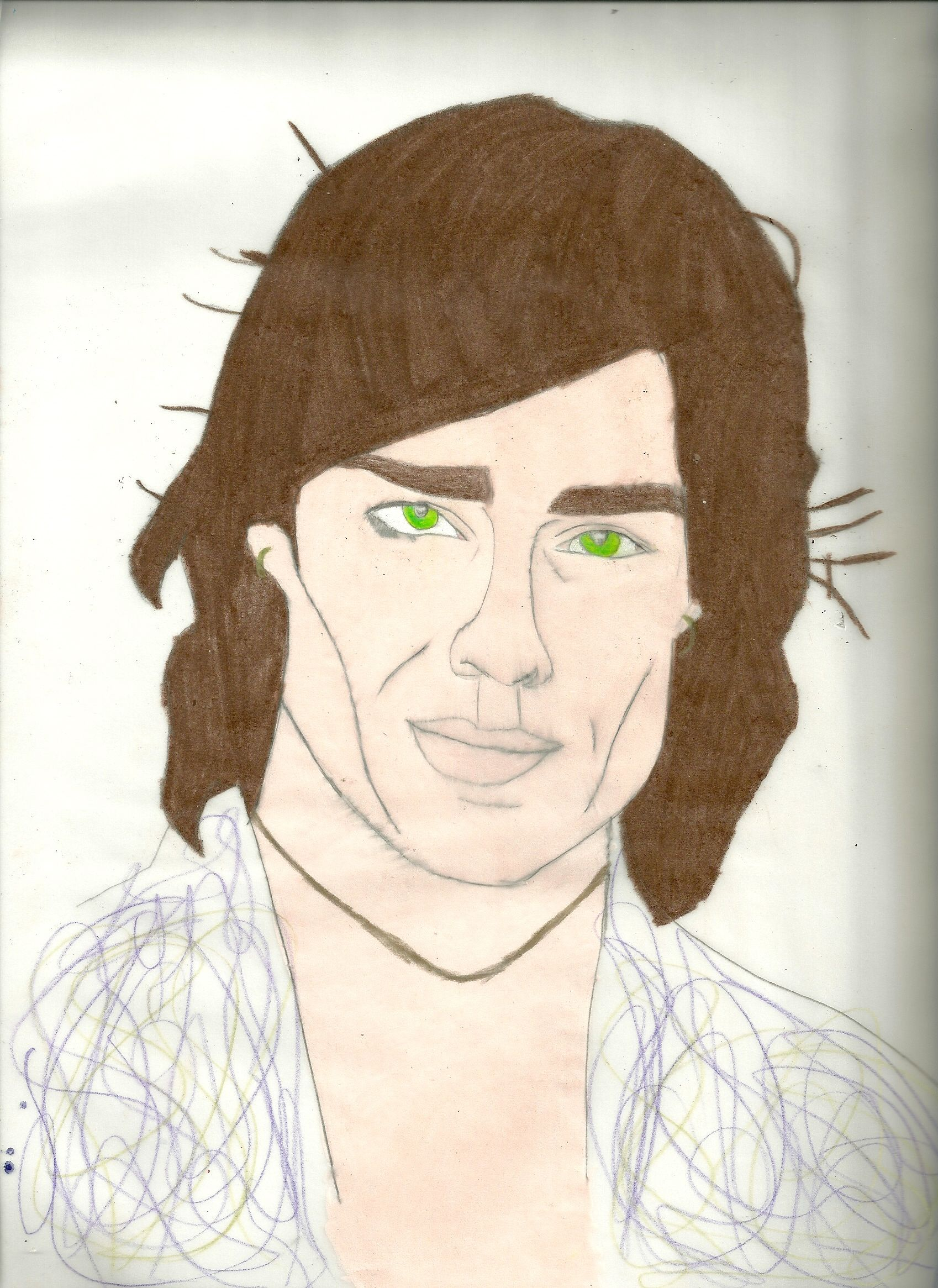1698x2331 Ronn Moss ( Ridge) Drawing Done With Prisma Color Colored Pencils
