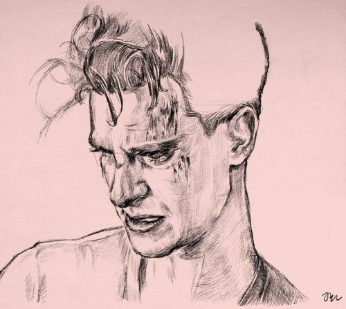 500x446 Drawing Andrew Garfield Tumblr