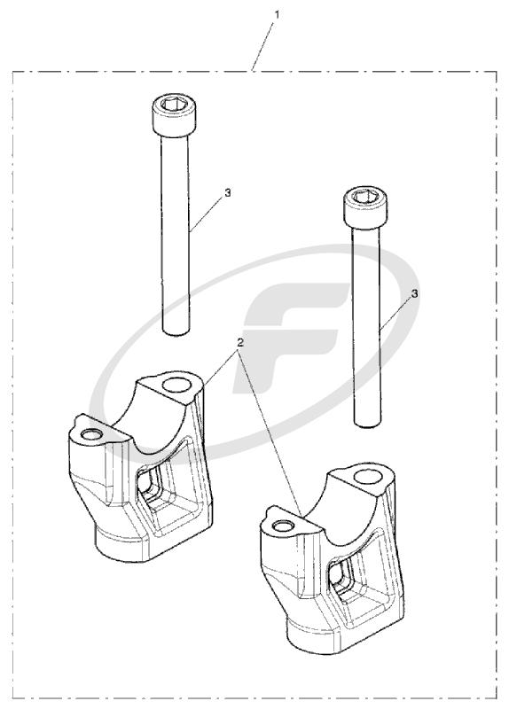 574x800 Triumph A9638167 Handlebar Riser Kit