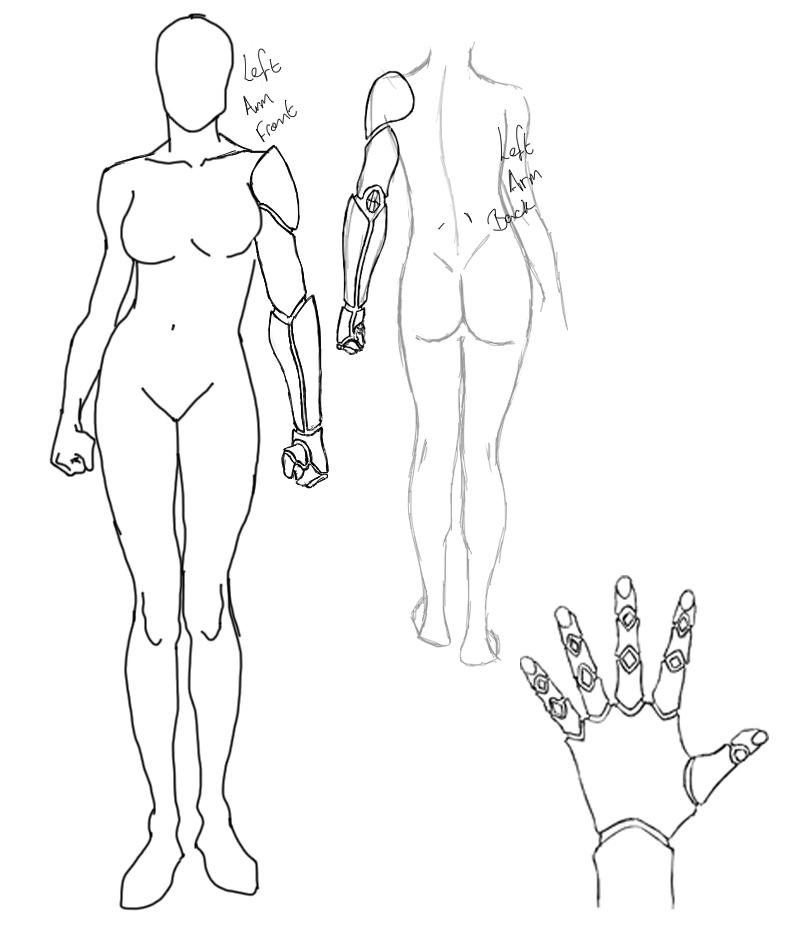 Robotic Human Arm Drawing