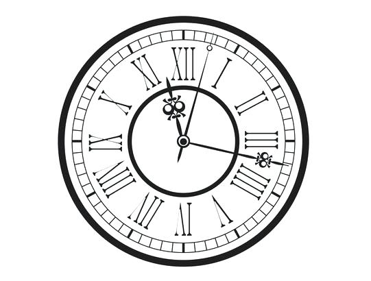 541x410 Roman Numeral Clock Oversized Roman Numeral Wall Clock Roman